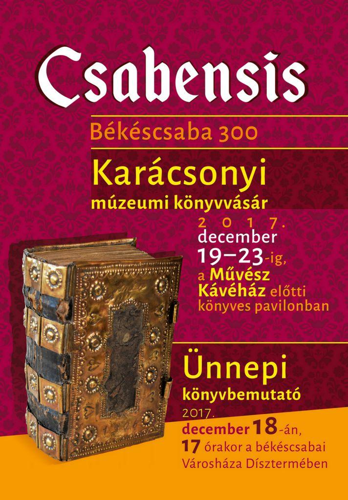Karácsonyi múzeumi könyvvásár